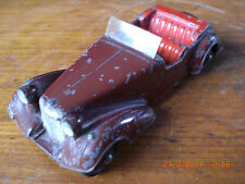 Dinky pre war alvis 38d with smooth hubs and solid steering wheel . all original