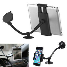 2in1 Car Windscreen Dashboard Suction Cup Mount Phone Tablet Holder w/ 2
