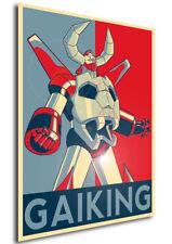 Poster Propaganda - ROBOT - Daiku Maryu Gaiking