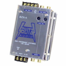 Blitz BZX4 High Performance Electronic Crossover Line Driver Network