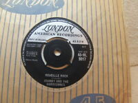 "Johnny and the Hurricanes – Reveille Rock 1959 7"" London HL 9017"