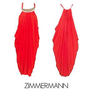 Sexy Zimmermann Vibrant Orange Cocktail dress - Size 1