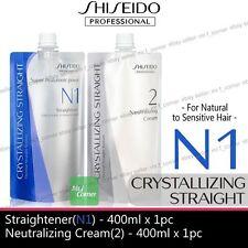 Shiseido Straight perm For Natural to Sensitive Hair N1 + Neutralizer Cream