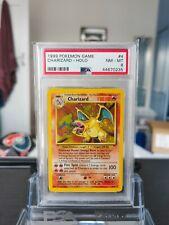 Charizard Holo Pokemon Card 4/102 Base Set Unlimited 1999 Strong PSA 8 Mint
