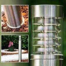 Design Stehlampe Aussen Steh Leuchten Edelstahl Wege Lampen Garten Pollerleuchte