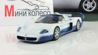 Maserati MC12 2004. Supercars. Diecast model 1:43. Deagostini. NEW