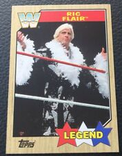 WWE 2017 Topps Heritage Rick Flair WWE Legend