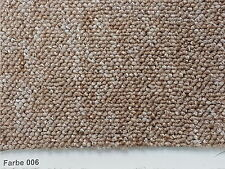 Teppichboden Auslegware 400 u. 500cm Breite Fa. beige