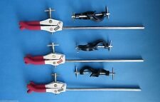 THREE FINGER CONDENSER CLAMP WITH BOSS HEAD X 3 - FLASK HANDLING Lab Supplies