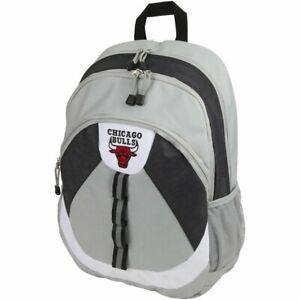 NWT Officially Licensed Chicago Bulls Grey Kinetic Backpack FREE SHIPPING!