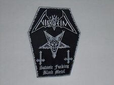 NIFELHEIM  BLACK/THRASH METAL EMBROIDERED PATCH