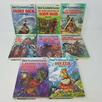 Great Illustrated Classics Hardcover Deluxe Edition 8 Book Box (Illustrated)