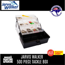Jarvis Walker 68590 Tackle Box with Knife (500 Pieces)