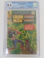 Tales Of Suspense #82 CGC 8.5 Iron Man & Capt America - 1st Appearance Adaptoid