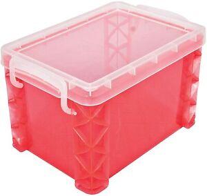 SCHOOL SUPPLIES Storage Studios Super Stacker Storage Box Hold 4x6 Cards Recipes