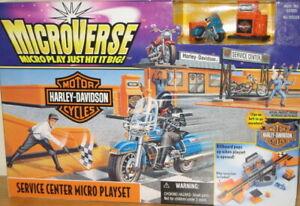 Micro Machines Harley Davidson playset