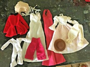Awesome lot Dresses= ideal Jody LITTLE CHAP  Hasbro Cher Charlie Angels  hats