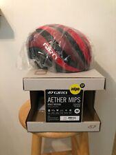 Giro Aether Mips Road Bike Helmet Matte Bright Red / Dark Red, Med - New In Box!