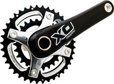 SRAM Truvativ X0 2x10 Speed BB30 MTB Carbon Crankset 26/39 175mm Black/Silver XO