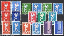 Europa cept year set 1958 Complete jaargang - MNH  Cataloguswaarde € 21
