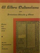 El Libro Valenciano (Francisco Almela i Vives-1933)