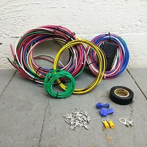 12v Wire Harness for 49 and earlier Hudson Nose-to-Tail Period Correct 63T