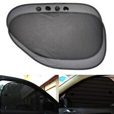 2Pcs Mesh UV Protection Car SUV Sun Shade Cover Sunshade Shield Side Rear Window