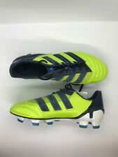 Men's/Boy's adidas soccer cleats adipower Predator Trx Fg size 6 lime green/navy