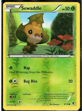 Pokemon Phantom Forces Sewaddle - 5/119 - Common - Reverse Foil