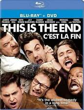 BLU RAY & DVD This Is the End James Franco Jonah Hill English French NEW