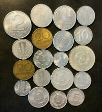 Old East Germany/DDR Coin Lot - 1948-COLDWAR - 19 Great Coins - Lot #Y1