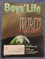 """Boy's Life Magazine """"Out of This World"""" October 2016"""