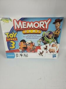 Disney Pixar Toy Story 3 Memory Game (Preschool Ages 3+) Sealed - New