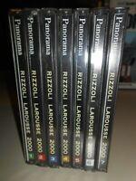 PC-CD-ROM-LAROUSSE RIZZOLI ENCICLOPEDIA MULTIMEDIALE PANORAMA 2000 DAL 1 AL 7