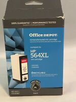 FastShip (HP 564 XL) Office Depot Re-manufactured Black Ink Cartridge High Yield