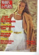 Modes de Paris - 1747 - juillet 1982