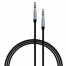 Remax Aux Audio 3.5M/M Cable Male to Male Stereo Cord for iPod PC MP3 (2M BLACK)