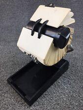 Mid Century Modern Zephyr American Rolodex 2x3 Card File - Model R-501-X