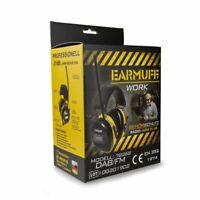 -31dB EARMUFF 78268DAB mit CE Gehörschutz DAB+ DIGITAL Radio mit Lithium Akku