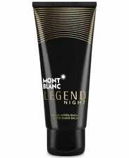 MONTBLANC Legend Night AFTER SHAVE Balm Smooth Skin Cologne Scent 3.3oz 100ml