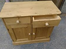 Solid Pine Hand Made 3ft Dresser Base/Sideboard  - Waxed Finish