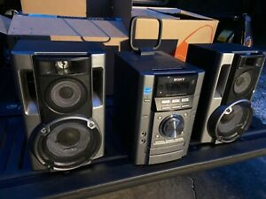 Sony HCD-EC70 Stereo System Speakers 3-Disc CD Player & AM/FM