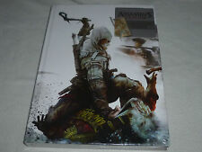 NEW SEALED ASSASSINS CREED III COLLECTORS EDITION OFFICIAL GUIDE BOOK HARDCOVER