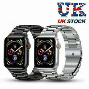 UK for Apple Watch 7 41mm 45mm Stainless Steel Wirst Watch Band Metal Strap
