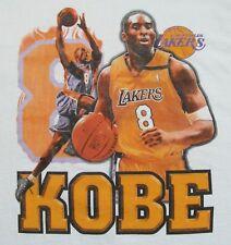 Vintage Kobe Bryant Unstoppable T-shirt XL 8 NBA Rap Tee Lakers