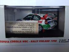 Vitesse 1:43 Toyota Corolla WRC Rally Finland 1998 V98204