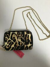 Victoria's Secret Animal Print Crossbody Wallet Clutch For Iphone 5/5S New v16