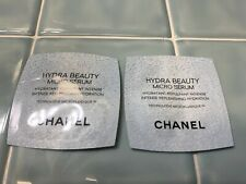 Two (2) Chanel Hydra Beauty Micro Serum Intense Replenishing Hydration (0.75 mL/