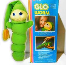 New listing Vintage Glow Worm Stuffed Animal Plush 80'S Original - New In Box