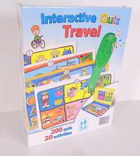 Clementoni Interactive Quiz Travel 20 Activities, 1 Electronic Pen, Carry Case